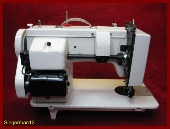 industrial strength sewing machine heavy duty upholstery leather walking foot ebay. Black Bedroom Furniture Sets. Home Design Ideas